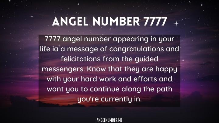 7777 Angel Number love focus hope