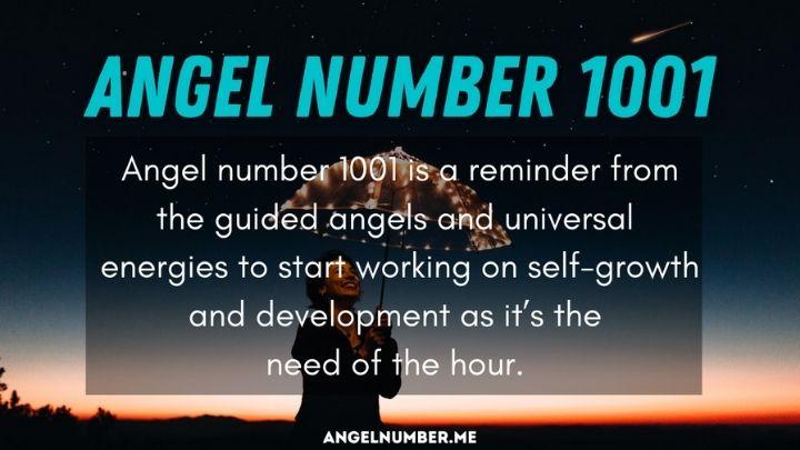 Seeing 1001 Angel Number
