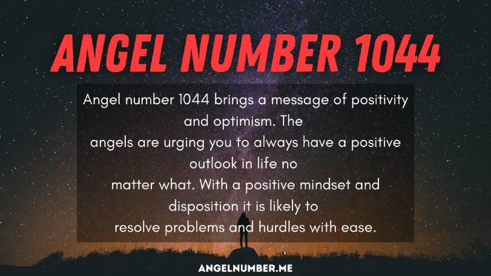 Seeing 1044 Angel Number