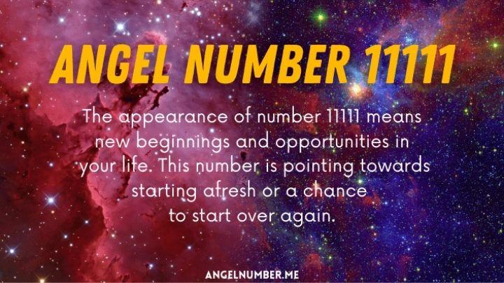 11111 angel number