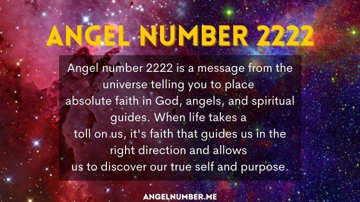seeing 2222 angel number
