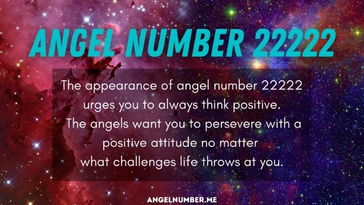 22222 angel number spiritual meaning