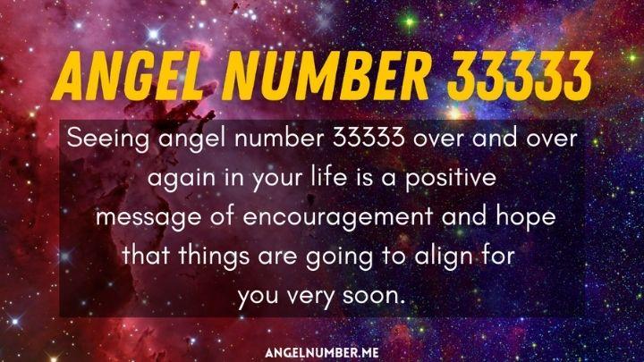 Seeing 33333 Angel Number