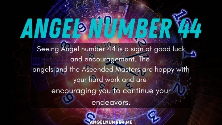 Seeing 44 Angel Number