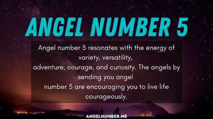 Seeing 5 Angel Number