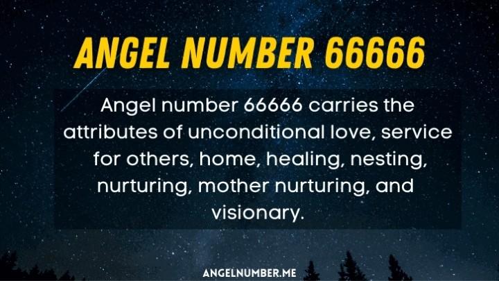 seeing 66666 angel number