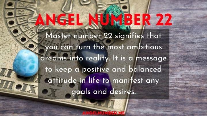 seeing 22 angel number