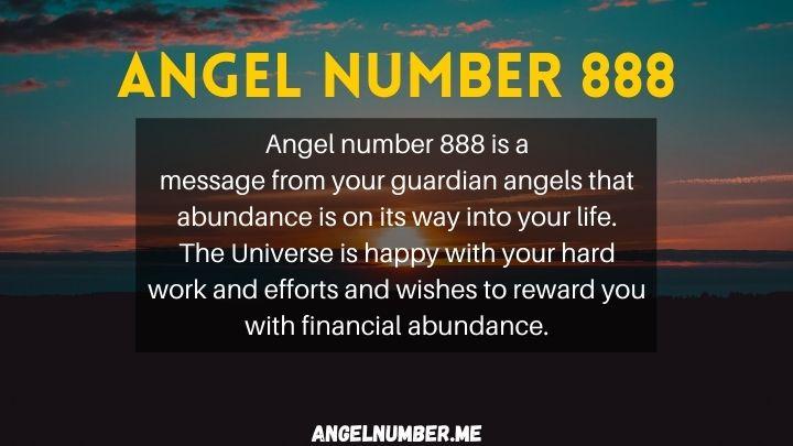 seeing 888 angel number