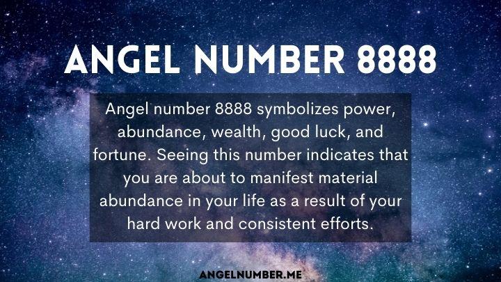 seeing 8888 angel number