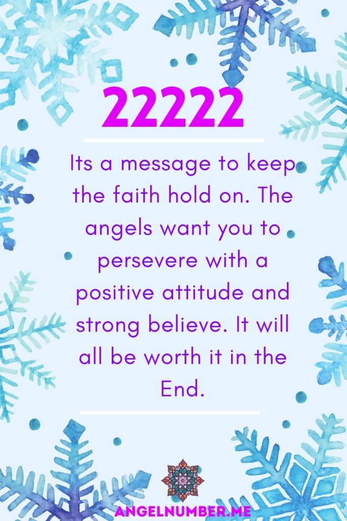 22222 angel number meaning
