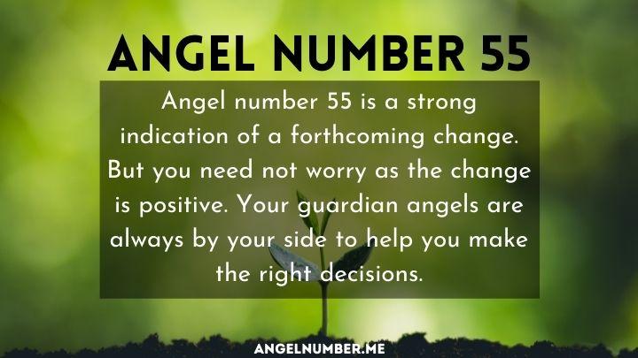 seeing 55 angel number