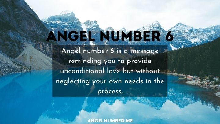 seeing 6 angel number