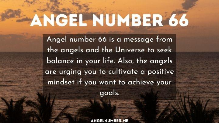 Seeing 66 Angel Number