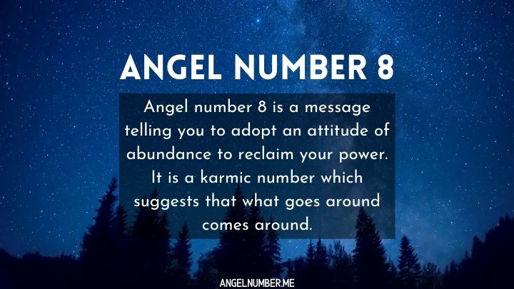 seeing 8 angel number