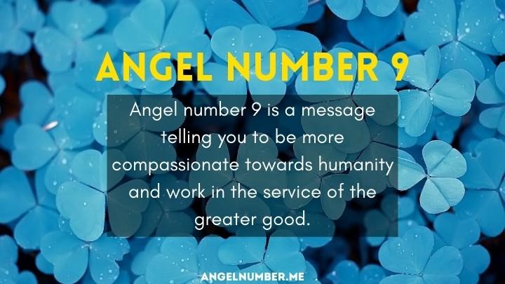 seeing 9 angel number