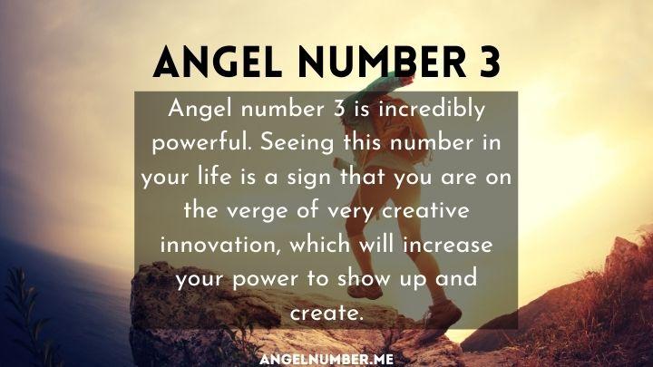 seeing 3 angel number