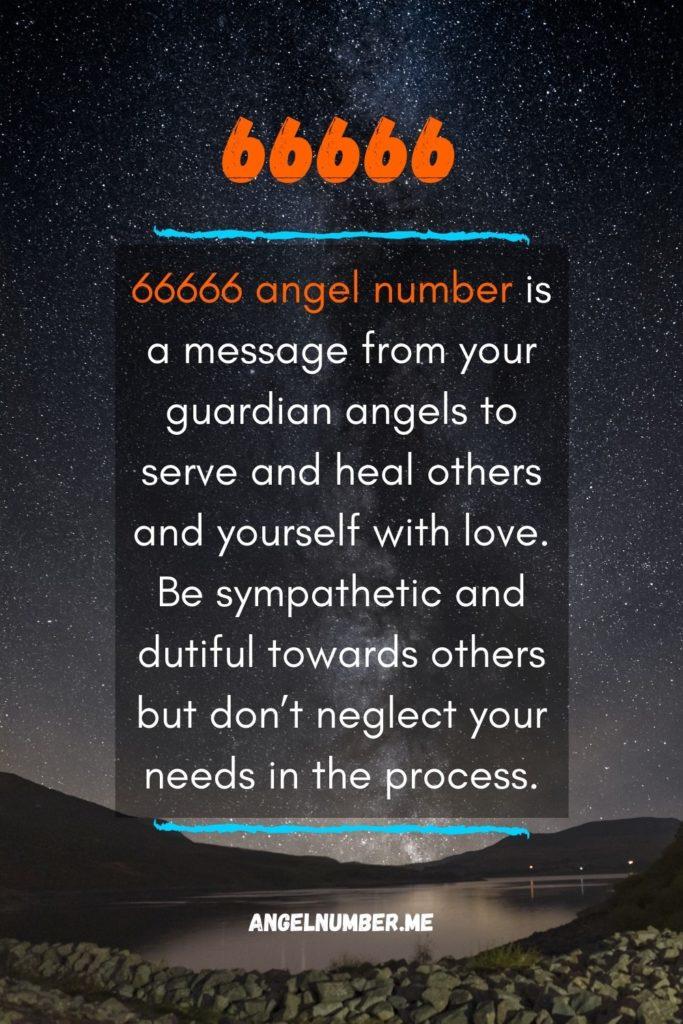 66666 spiritual meaning