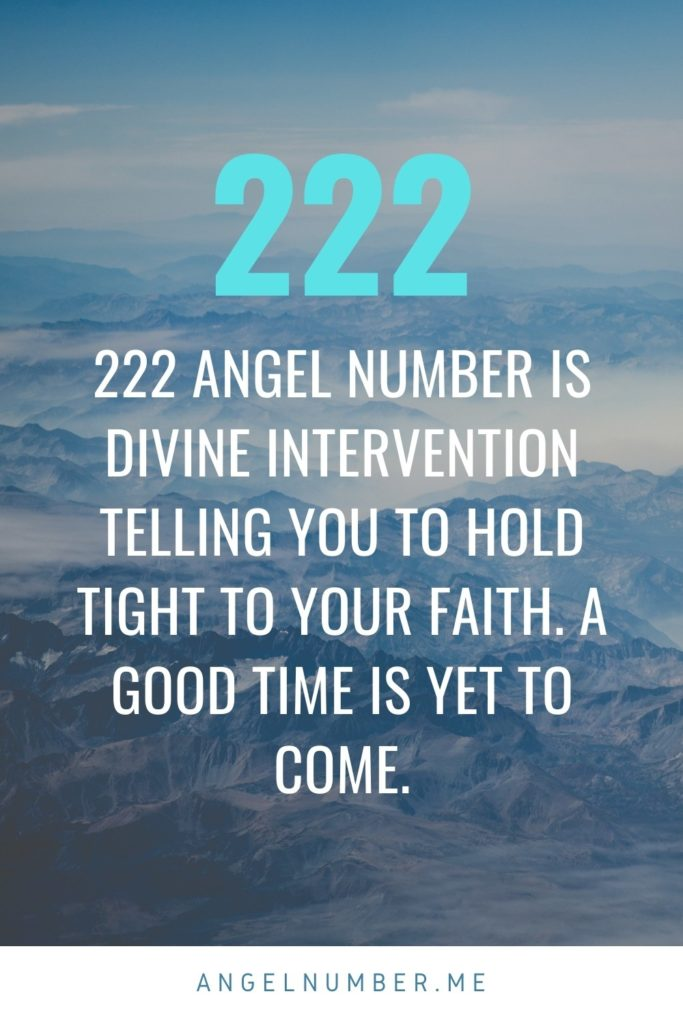 Angel Number 222 Spiritual Meaning