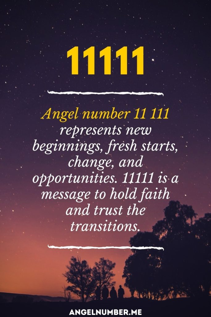 angel number 11111 spiritual meaning