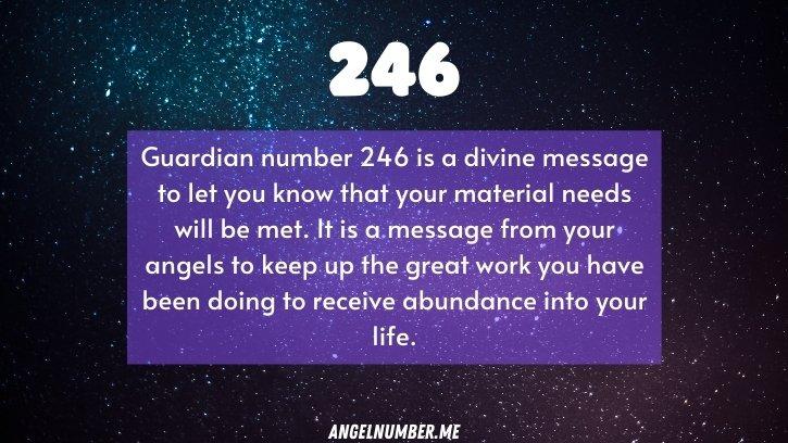 Seeing 246 Angel Number