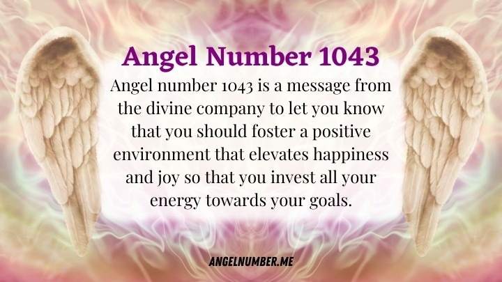 Angel Number 1043 Meanings