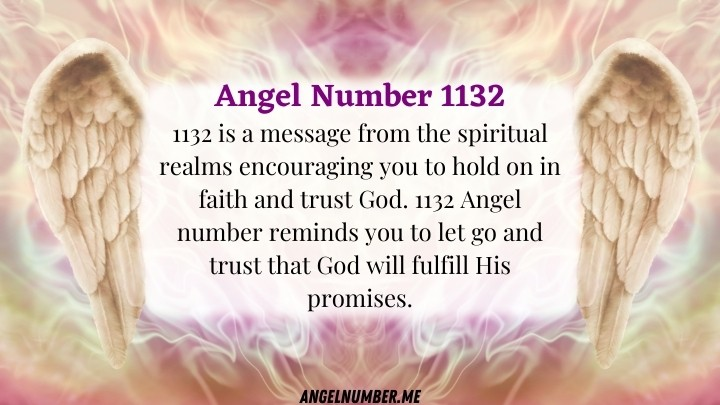 Angel Number 1132 Meaning