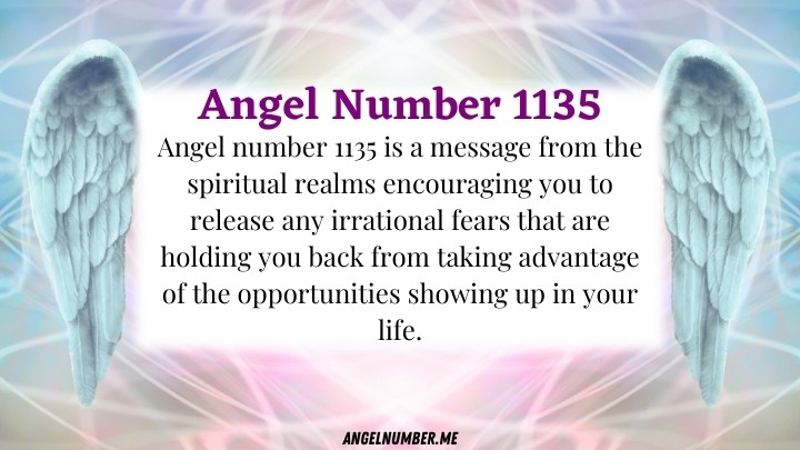 Angel Number 1135 Meaning