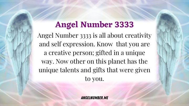 Angel Number 3333 Meaning
