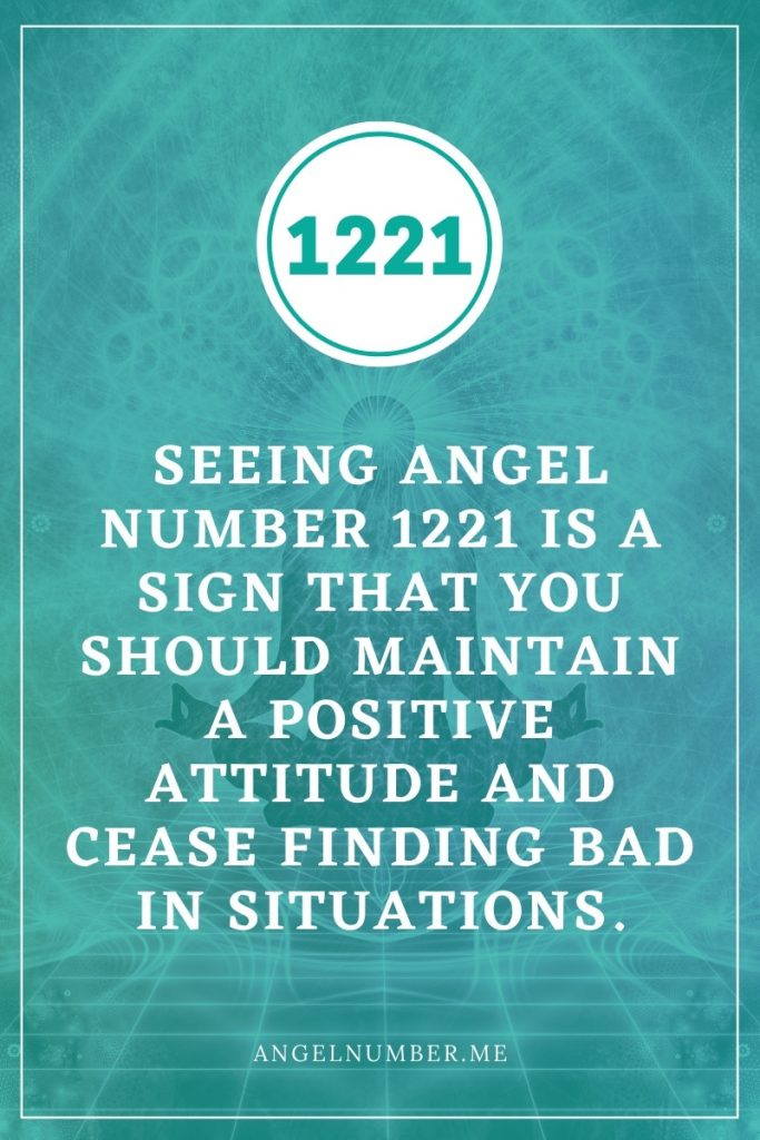 1221 Angel Number Meanings
